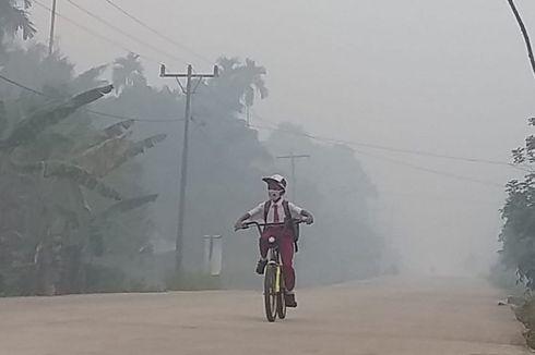 Cuaca Buruk karena Kabut Asap, 2.727 Warga Terserang ISPA di Jambi