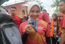 Trik Khusus Istri Ganjar Pranowo Taklukan Borobudur Marathon 2018