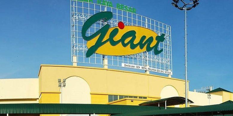 Ilustrasi supermarket Giant