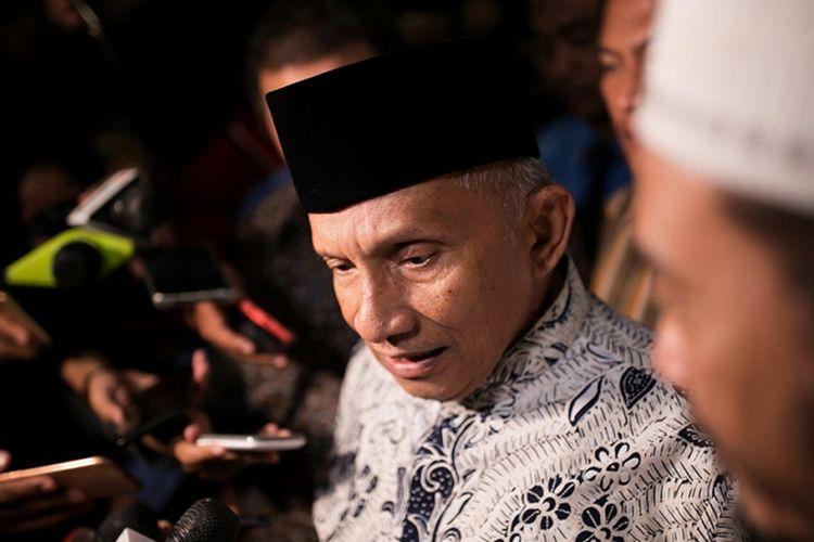Amien Rais Sebut Jokowi Sebagai Lurah Bukan Presiden. Dan Minta Jokowi Hati-hati di Kasus Rizieq Shihab
