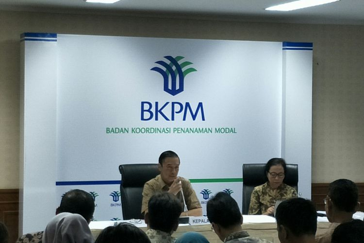 Kepala BKPM Thomas Lembong di Kantor BKPM, Jalarta, Rabu (30/1/2019)