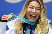 Raih Medali Emas Olimpiade, Atlet Ini Tahan Tangis demi 'Eyeliner'