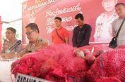 Ditpolairud Polda Kepri Amankan 1.000 Karung Bawang Merah Ilegal dari India