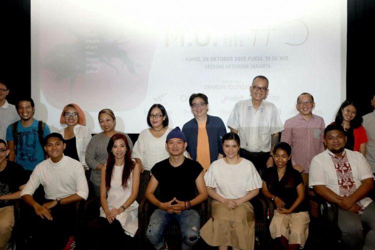 Komite Tari DKJ mengembangkan platform bernama Jakarta Dance Meet Up (JDMU) yang dilakukan secara berkala sejak 2017.