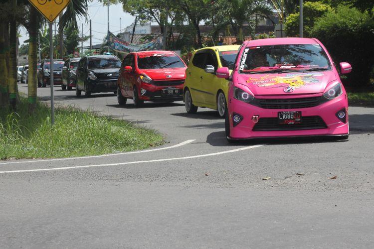 Toyota Agya Club (TAC) mendeklarasikan chapter Jombang, Jawa Timur, pada Minggu, (4/3/2018).