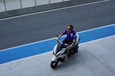 Rossi Jajal Buriram Pakai Aerox 155, tapi Tak Pakai Helm