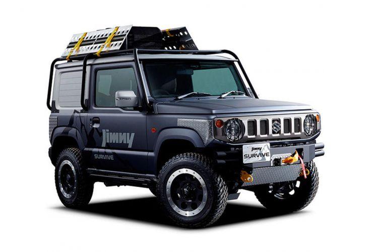Modifikasi Suzuki Jimny untuk Tokyo Auto Salon 2019