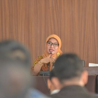 Kordinator Divisi Pelanggaran dan Penanganan, Bawaslu RI, Ratna Dewi Petalolo di Bengkulu