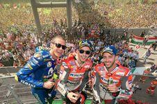Rossi: Bodoh Bila Tidak Perhitungkan Lorenzo
