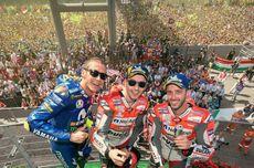 Dovizioso Tak Ingin Seperti Rossi yang Balapan di Usia 40 Tahun