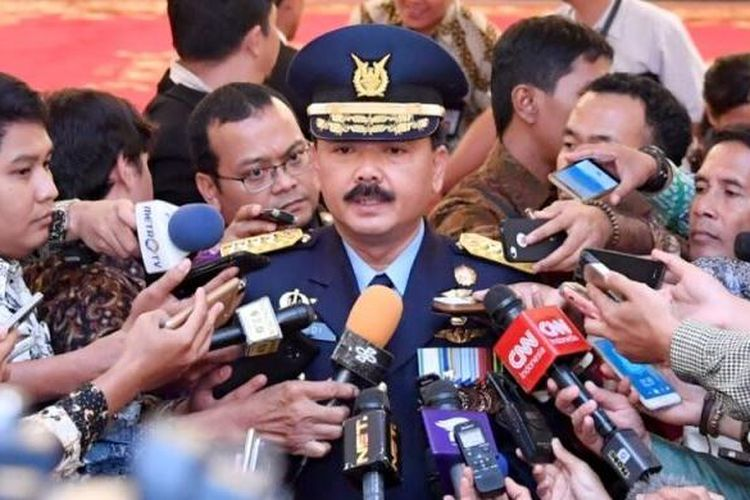 Kepala Staf TNI Angkatan Udara Marsekal Hadi Tjahjanto.