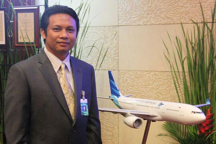 Dewa Rai, Direktur Garuda Indonesia Holiday France di Paris, Perancis.