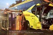 Tabrakan Bus dan Truk di Tol Pasar Rebo, 2 Orang Terluka