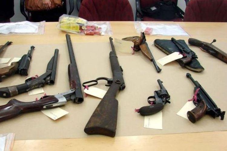 Pencurian senjata api meningkat dua kali lipat selama 10 tahun terakhir di Australia. (ABC News/Rachel Pupazzoni)