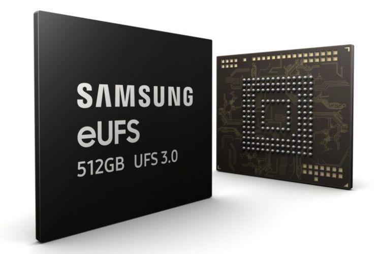 Ilustrasi eUFS 3.0 Samsung