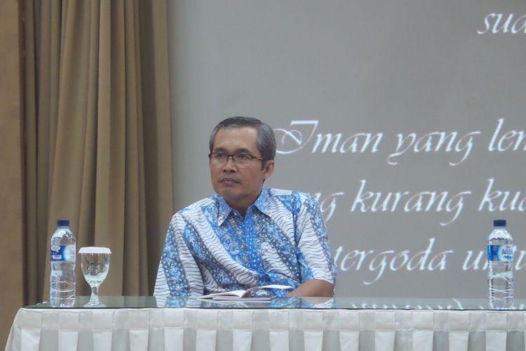 Komisioner Komisi Pemberantasan Korupsi Alexander Marwata