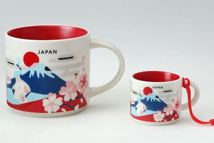 You Are Here Collection kini mengeluarkan edisi Jepang dalam bentuk mug dan cangkir espresso yang dijual di gerai-gerai Starbucks seluruh Jepang.
