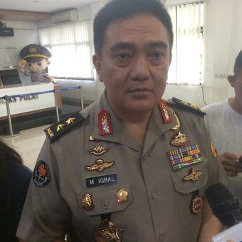 Kepala Divisi Humas Polri Irjen (Pol) Muhammad Iqbal di Gedung Humas Mabes Polri, Jakarta Selatan, Jumat (11/1/2019).