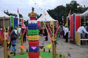 TPS di Depok Ini Punya Konsep Karnaval, Ada Badut hingga Bendera Warna-warni