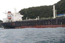 Sempat Misterius, Tanker yang Terdampar Itu Penampung Minyak Bumi dari Natuna