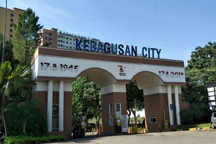 Apartemen Kebagusan City, Pasar Minggu, Jakarta Selatan. Foto diambil Rabu (19/12/2018).