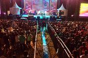 Hari Perdana Konser Musik Malaka, Penyanyi Timor Leste Ini Pukau Ribuan Penonton