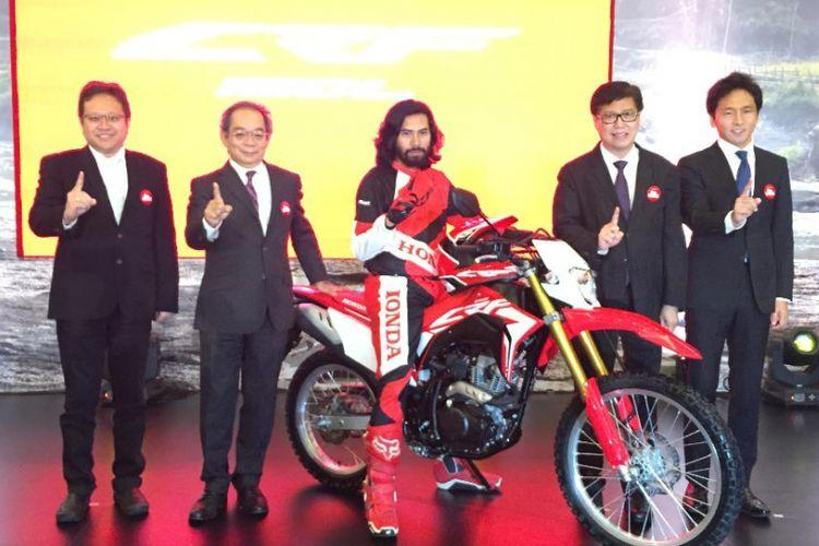 Honda CRF 150L resmi meluncur di Indonesia