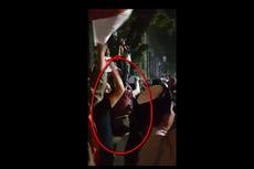 Pelaku Pelemparan Kaca dalam Unjuk Rasa di DPRD Sumut Dibekuk Polisi