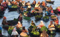 Pasar Terapung Lok Baintan, Roda Ekonomi Orang Banjar