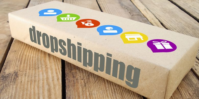 Ilustrasi dropshipping