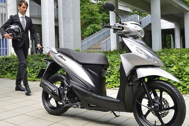 Suzuki Addres yang akan menjadi skutik baru Suzuki berkapasitas 110cc.