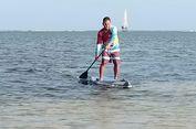 Sosialisasi Jelang Ajang Olahraga Air Stand Up Paddle di Belitung