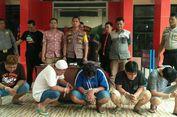 Gerebek Pesta Sabu di Palembang, Polisi Temukan Senjata Api Berpeluru