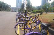 Pemprov DKI Tambah 50 Unit Sepeda 'Bike Sharing' di Monas