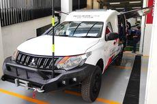 Tengok Triton Dipakai Mitsubishi untuk Mobil Servis