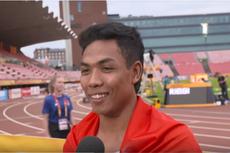 Jadi Juara Dunia Atletik, Zohri Bangga Cetak Sejarah untuk Indonesia