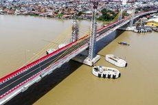 Uji Coba Jembatan Musi IV, Truk Muatan Diatas 8 Ton Dilarang Melintas