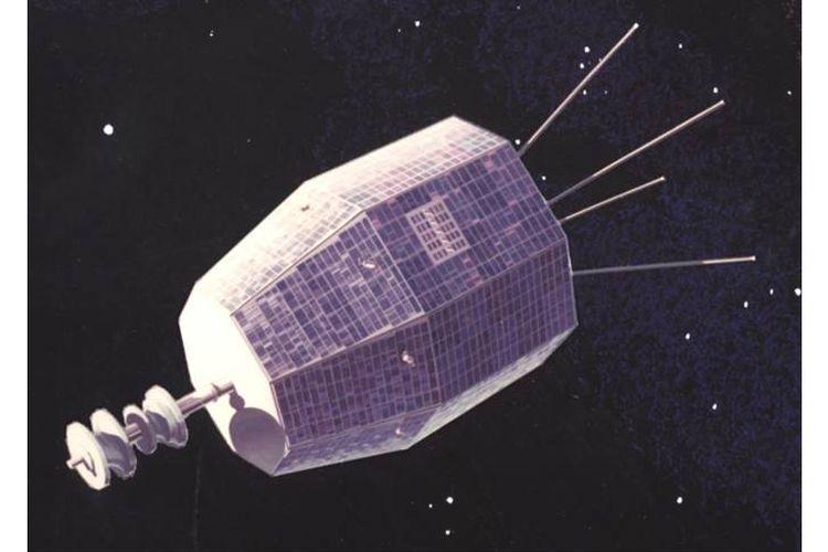 Satelit Komunikasi Relay 1