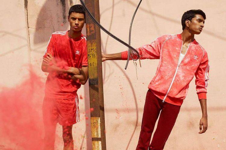 Koleksi Adidas yang terinspirasi dari festival warna di India