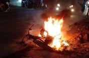 Motor Shogun Terbakar Setelah Isi Bensin