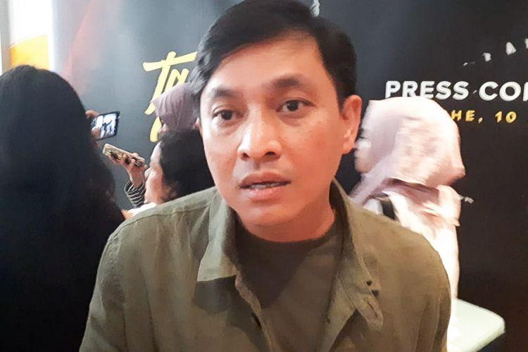 Artis musik Yovie Widianto saat ditemui dalam jumpa pers konser Tanda Mata Glenn Fredly di kawasan Senopati, Kebayoran Baru, Jakarta Selatan, Jumat (10/8/2018).