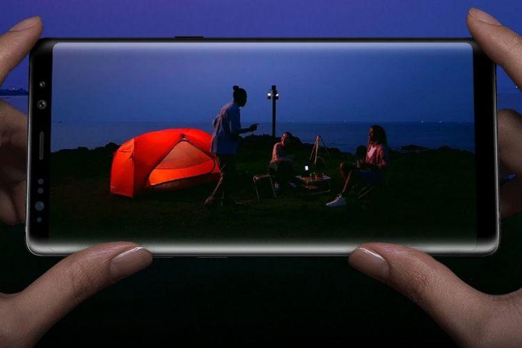 Galaxy Note 8 memiliki kamera utama dengan dua lensa termutakhir dengan dual pixel, dual OIS, serta tele dan wide.