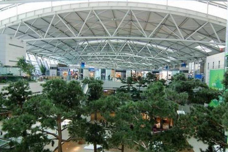 Bandara Incheon, Korea Selatan.