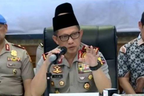 Kapolri: Aksi di Surabaya, Polda Riau, dan Mako Brimob Terkoneksi