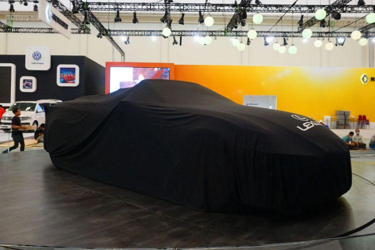 Persiapan pameran GIIAS 2017. Pameran otomotif tahunan akan mulai digelar 10/8/2017
