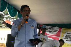 Nostalgia Sandiaga di Pasar Minggu akan Kampanye Pilkada DKI...