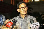 Sandiaga Uno: Survei Gerindra Tunjukkan Mayoritas Masyarakat Ingin Pemerintahan Baru
