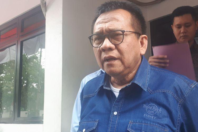 Politikus Partai Gerindra Mohamad Taufik datang ke kantor Badan Pengawas Pemilu (Bawaslu) DKI Jakarta, Kamis (20/9/2018). Ia datang untuk memenuhi panggilan Bawaslu terkait laporan yang dilayangkannya kepada Komisi Pemilihan Umum (KPU) DKI.
