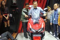 Gaya Jusuf Kalla Naik Motor Baru Honda ADV 150