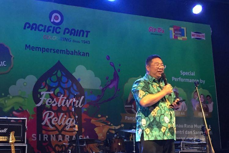 Head of Marketing Pacific Paint, Ricky Soesanto.